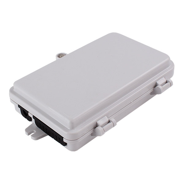 6 port Indoor / Outdoor Wall Mounted Termination FTTH Optical Fiber Distribution Box Enclosure