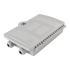 2 port Outdoor / Indoor SC Wall Mounted FTTH Optical Fiber Distribution Box