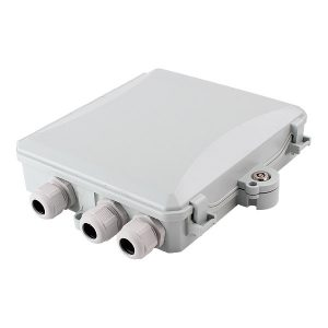 12 port Indoor / Outdoor Wall Mounted  fiber optic terminal box