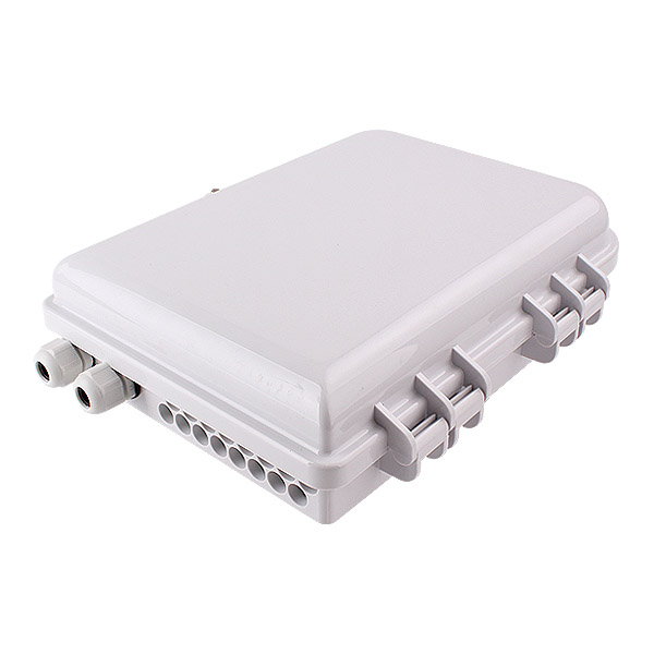 16 port SC LC Wall Mount FTTH Optical Splitter Termination Fiber Distribution Box