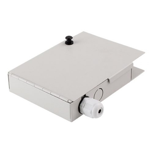 Wall Mounted Fiber Optic Terminal Box 4 Fiber Ports SC LC