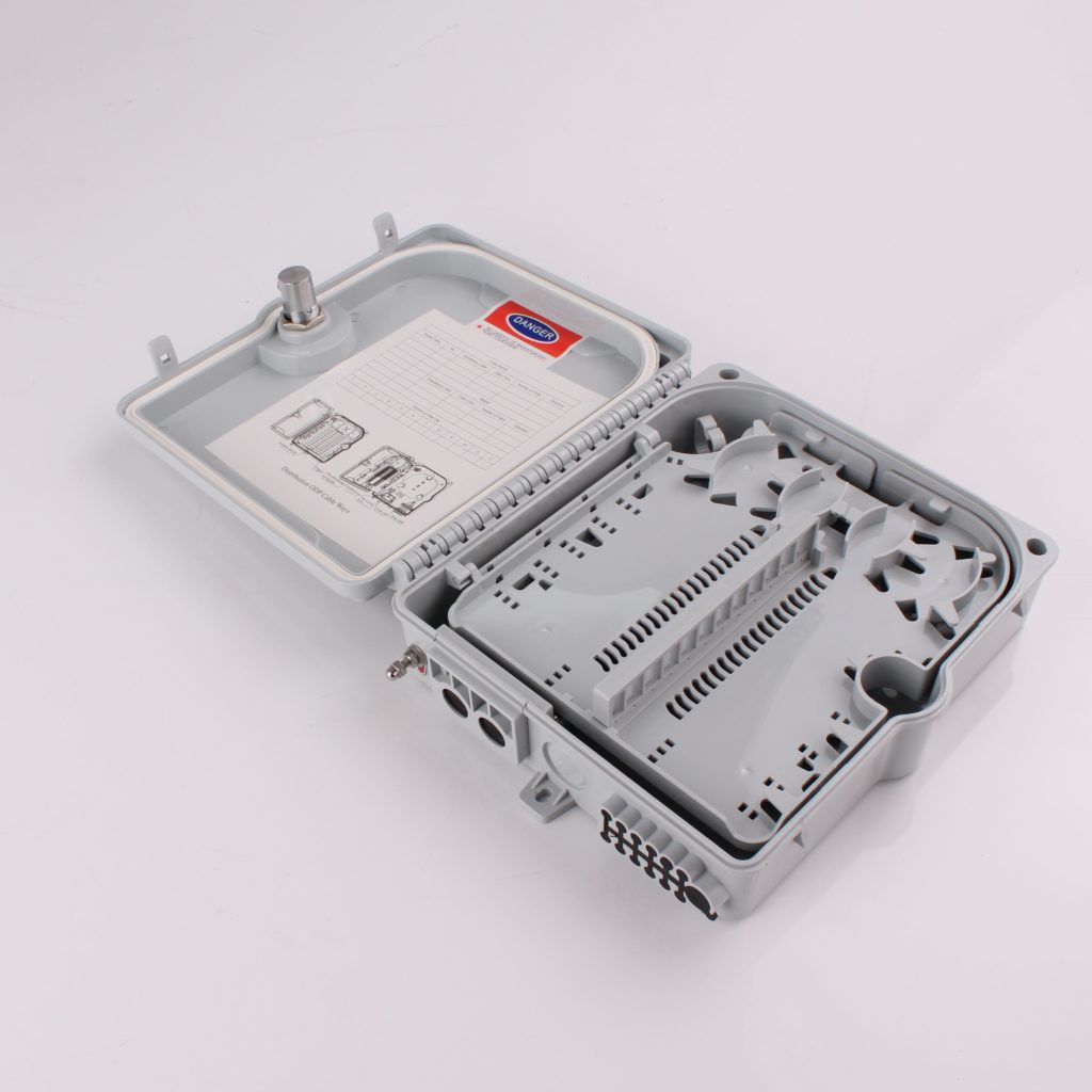 ftth 24 ports fiber optic distribution box/termination box
